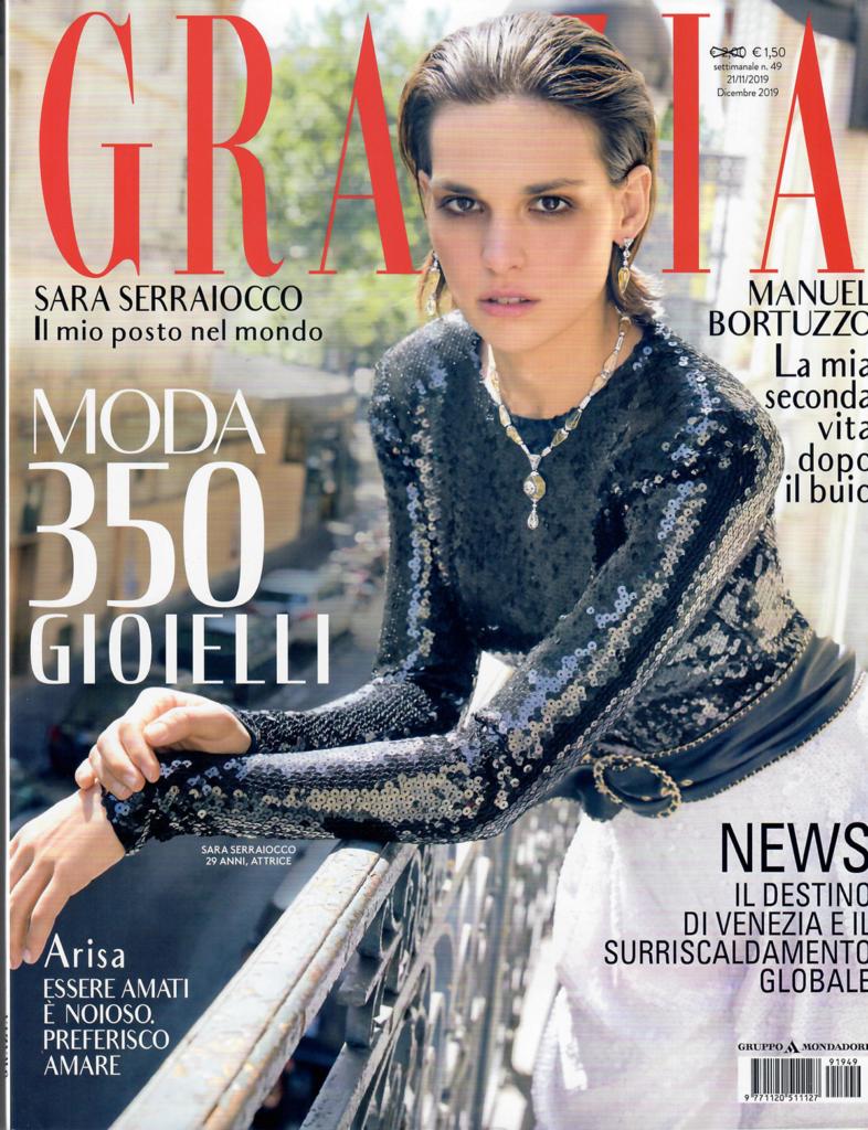 Farnese-Gioielli-Grazia_settimanale n.49_21-11-19_Copertina