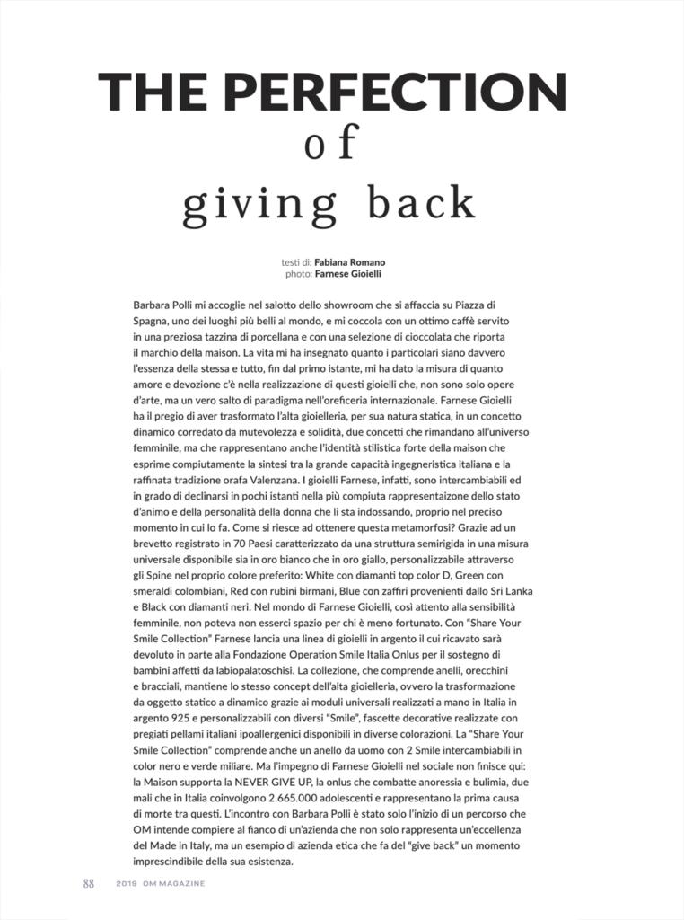 Farnese Gioielli OM Magazine Dicembre 19_2