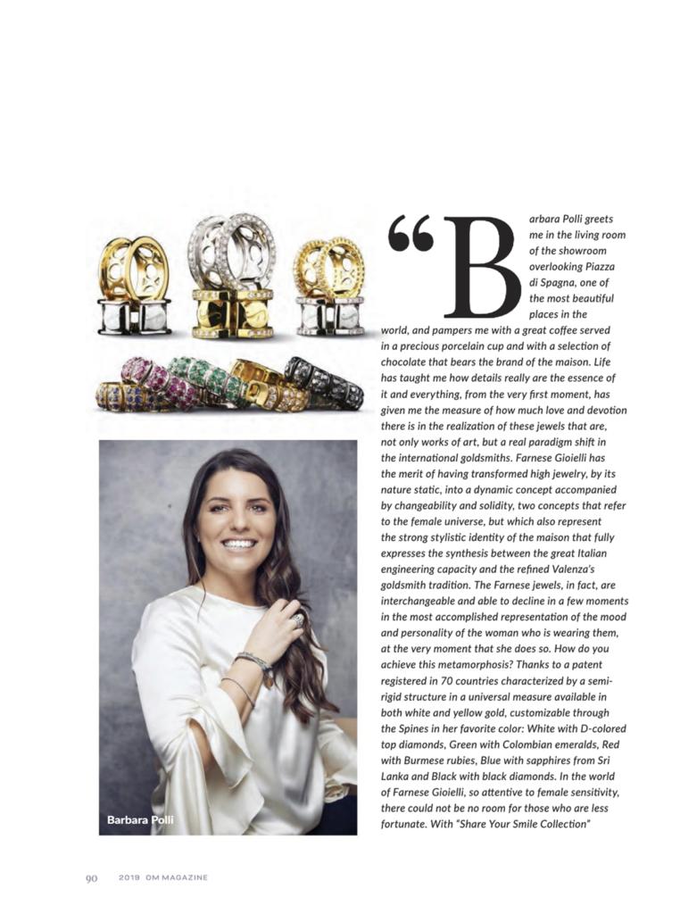 Farnese Gioielli OM Magazine Dicembre 19_4