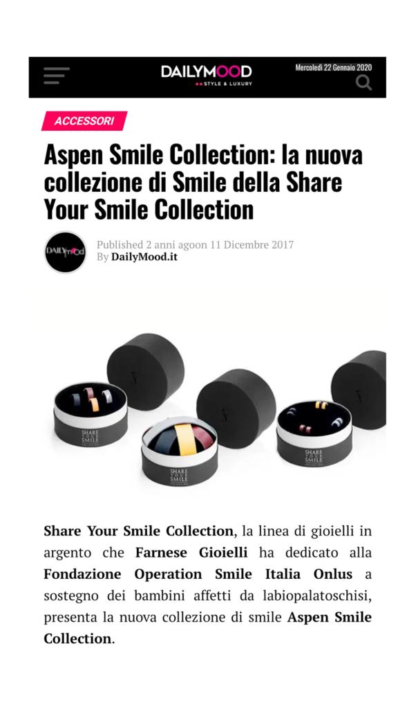 Farnese Gioielli - Daily Mood - Novembre 2017