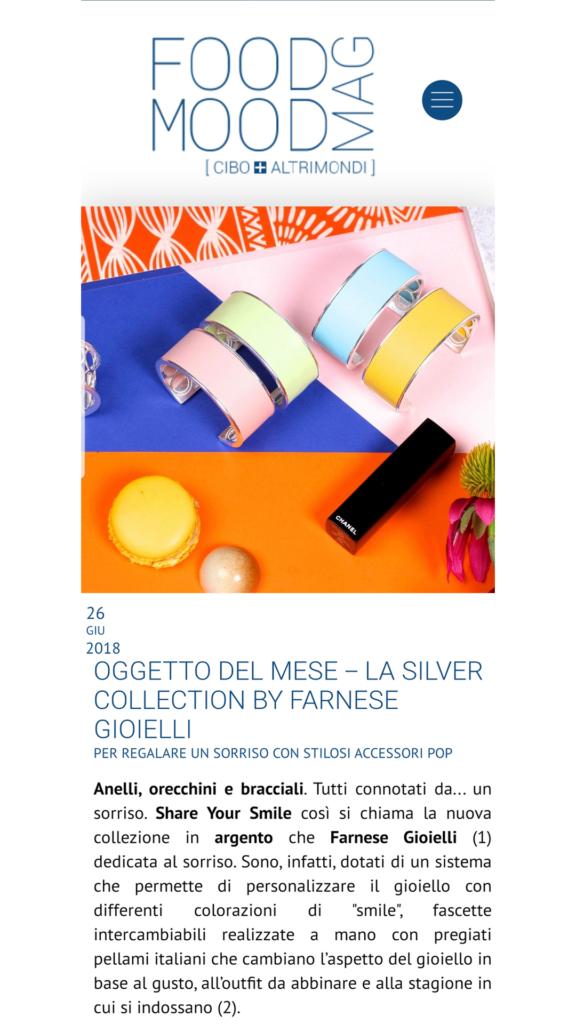 Farnese Gioielli - Food Mag- Giugno 2017
