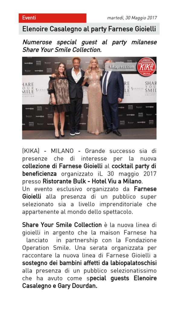 Farnese Gioielli - Kika Press - Maggio 2017